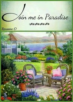 Join me in paradise. Life In Paradise, Paradise On Earth, Jehovah Paradise, Spiritual Photos, Spiritual Thoughts, Paradise Pictures, My Father's House, Eyes On The Prize, New Earth
