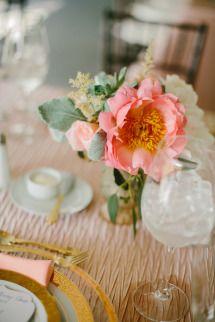 Rentals: Rentals Unlimited | Photography: Emily Delamater | Floral Design: Orchid 'N Blooms | Venue: Blithewold Mansion