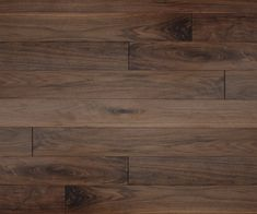 We love the natural texture and authentic colour variation you get with American Black Walnut wood flooring.