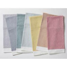 Coyuchi Diamond Chambray Kitchen Towel Set - House&Hold