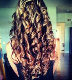 Now if I could get my hair to STAY like this.