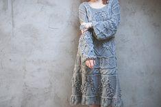Картинки по запросу вязаное этно бохо платье