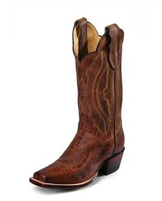 Women's Tan Distressed Vintage Goat Boot - Justin L2680 - maybe we can pool our money to buy for you Jess!!