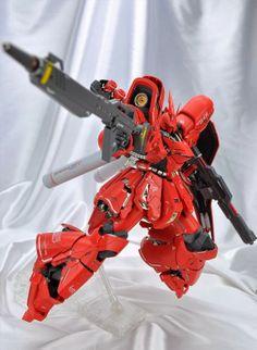 GUNDAM GUY: MG 1/100 Sazabi Ver.Ka - Custom Build