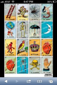 Mexican loteria :)