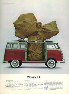 Vintage Volkswagen advertising - What is it?