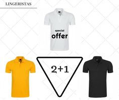 Διαχρονική και μονόχρωμη μπλούζα polo σε πολλά χρώματα και δεν είναι μόνο αυτό!  Αγοράζεις 2 και παίρνεις δώρο ένα λευκό.