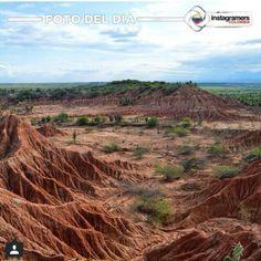 Foto de @hernanaway del Desierto de la Tatacoa #Huila #Colombia vía @igerscolombia #adondeviajar #Enmicolombia