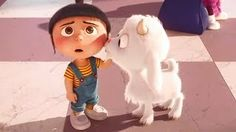 Despicable Me 3 – Agnes Memorable Moments Purple Galaxy Wallpaper, Nature Iphone Wallpaper, Disney Phone Wallpaper, Panda Wallpapers, Cute Cartoon Wallpapers, Cartoon Pics, Fluffy Despicable Me, Agnes Despicable Me, Unicorn Wallpaper Cute