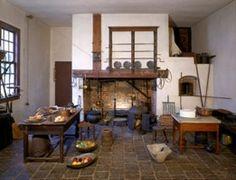 Kitchen at George Washington's Mount Vernon