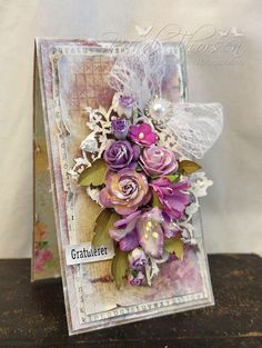 RANDI'S LITTLE BLOG: Craft & You Design - Purple Greeting Cards