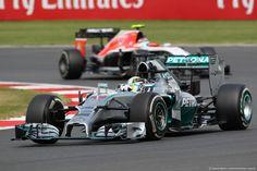 GP GRAN BRETAGNA, 06.07.2014 - Gara, Lewis Hamilton (GBR) Mercedes AMG F1 W05