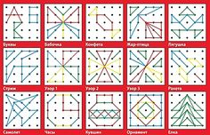 ... считаю, самое время. Итак! Что такое математический планшет Эта классическая дидактическая игра известна еще с 50-х годов XX века. Ее прототип под названием Geoboard («геометрическая доска») изобрел египетский педагог Калеб Гаттегно. Вариациями «Геоборда» являются также «Геоконт» Воскобовича и планшет «Геометрик». Математический планшет представляет собой резиночный конструктор. На квадратном поле ...