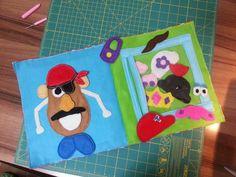 Mr Potato Head book!  DIY