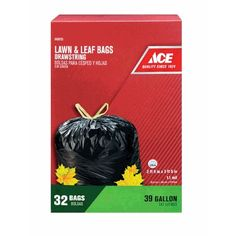 Get your lawn and leaf bags at Bill's Ace Hardware! #BillsAceHardware #lawnbags #leafbags