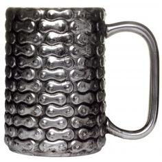 BIKE CHAIN COFFEE MUG I want one!!!!