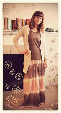 RubyBows: Maxi dresses in winter