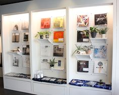 A very creative use of Wall Control Horizontal White Metal Pegboard being used here in a gallery space at a record label. A great picture and wonderful customer submission! Thanks for the great pic Matt!