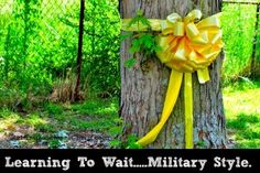 Learning to Wait-Military Style - Raising Soldiers 4 Christ