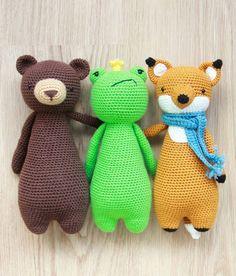 Crochet patterns by Little Bear Crochets: www.littlebearcrochets.com #littlebearcrochets #amigurumitoy