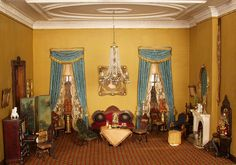 Thorne Rooms at KMA, Parlor by Knoxville Museum of Art, via Flickr