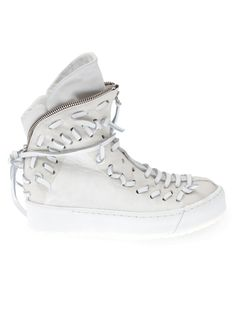 ARTSELAB zip hi-top sneakers
