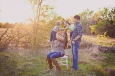 Outdoor Family Session by Captured By JennaLynn