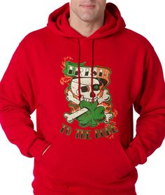 Hoodie Irish to the Bone Hooded Jacket Sweatshirt from $24.99 at xpressiontees.etsy.com   #ExpressionTees