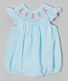 Pink Bunny Bubble Bodysuit - Infant & Toddler #zulily #zulilyfinds