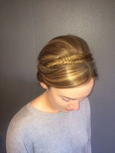 Fishtail hairup