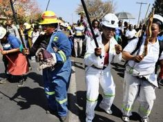 "lonmin protest outside court: Miners face 34 counts – each – of murder. That's ""madness"" (Juju)"