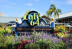 Signage-Cafe 64 San Diego California