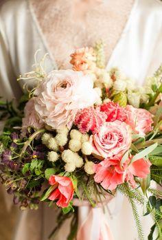 Floral Boudoir Shoot