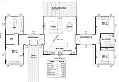 4 bedroom steel kit home design floor plans architectural ideas - Kit Homes by Imagine Kit Homes