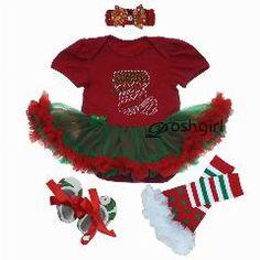 [ 29% OFF ] Autumn Baby Girl Party Dress Christmas Newborn Clothing Headband Set Shoe Rhinestone Infantil Menina Dress Set 1Year Xmas Outfit