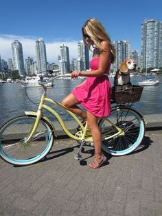 "bicycle-babe: ""Bicycle girl http://bicycle-babe.tumblr.com/ "" #bicyclegirl"