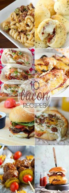 10 Bacon Recipes! I