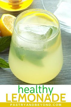 You Have Meals Poisoning More Normally Than You're Thinking That Healthy Lemonade-Youll Love This Delicious Homemade Lemonade With Fresh Lemon Juice, Honey And Mint. This Healthy Recipe Is So Refreshing And Easy To Make Lemonade Tea Recipe, Honey Lemonade, Healthy Lemonade, Homemade Lemonade Recipes, Mint Recipes, Sugar Free Recipes, Turmeric Lemonade, Sweets Recipes, Healthy Drinks
