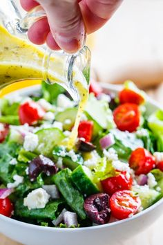 Greek Salad. There is nothing better.