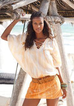 BF Tunika Batik im Online Shop von Ackermann Versand #Fashion #Ethno #Boho New Buffalo, Bell Sleeves, Bell Sleeve Top, Batik, Dips, Cover Up, Shirts, Shopping, Dip Dyed
