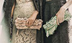 Burberry Prorsum Petal Bags
