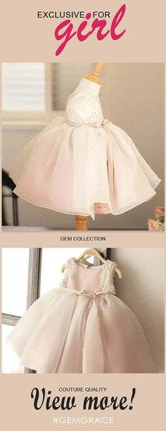 Only $64.99, Flower Girl Dresses Vintage Blush Pink Tulle Flower Girl Dress Tutus Wedding Dress For Girls #TG7005 at #GemGrace. View more special Flower Girl Dresses now? GemGrace is a solution for those who want to buy delicate gowns with affordable prices, a solution for those who have unique ideas about their gowns. Find out more>>