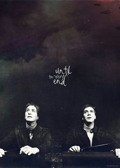 Fred and George. Ima go cry now.