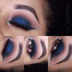 Makeup look using Lorac Cosmetics Pro Palette 2