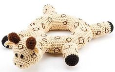Into the Jungle Crochet Baby Toy giraffe