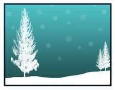 Christmas Cards - Christmas tree - 6 pack