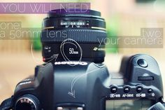 Turn your 50mm lens into a macro lens