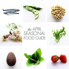 April Seasonal Food Guide!