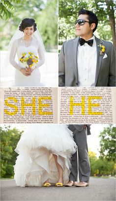 Groom Style. We love the bow tie and glasses. Way Cute!