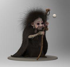 ArtStation - Old witch , Jean-Baptiste Monge